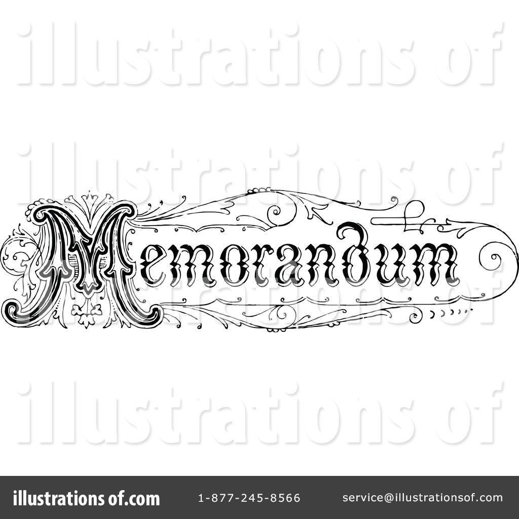 memo clipart 1121437 illustration by prawny vintage