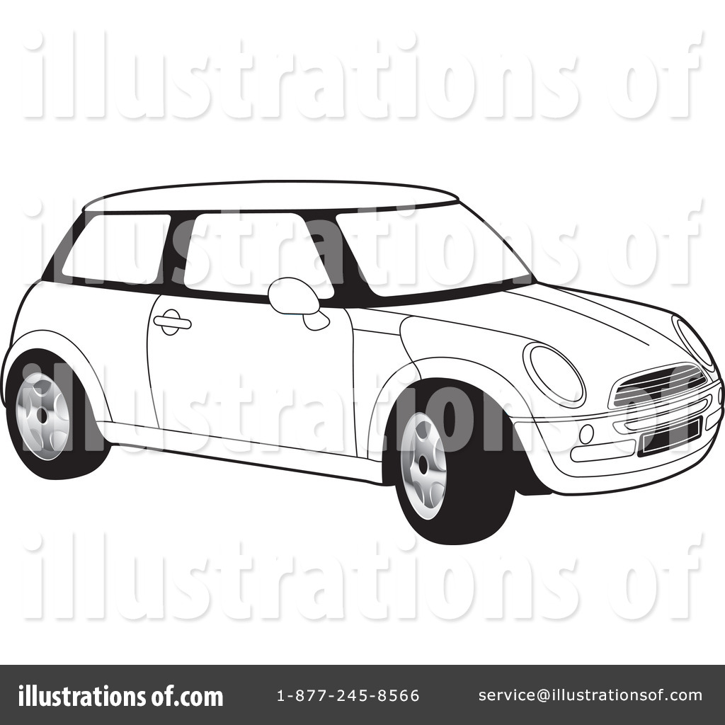 royalty free rf mini cooper clipart illustration by lal perera stock sample