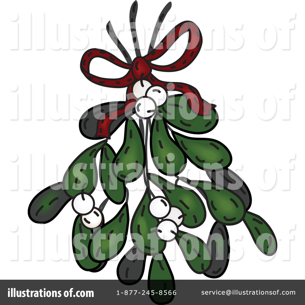 Mistletoe Clipart #72107 - Illustration by inkgraphics