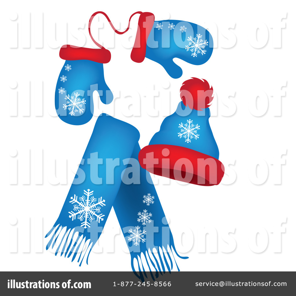 Mittens Clipart #82338 - Illustration by Pams Clipart