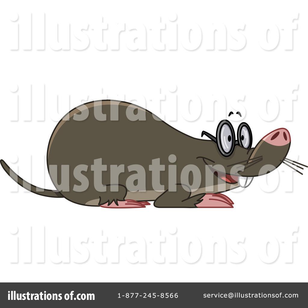 Mole Clipart #1077969 - Illustration by yayayoyo