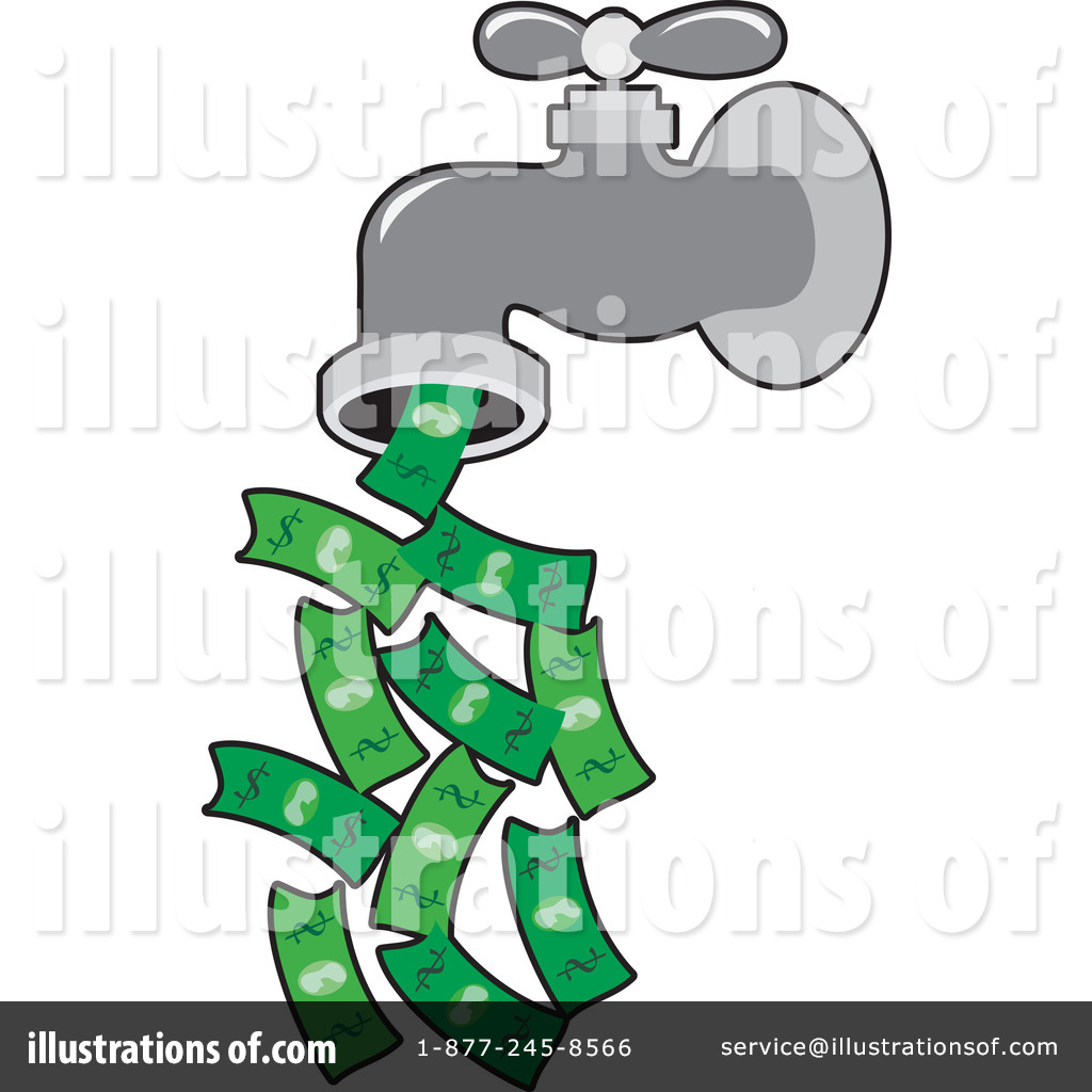 Money Clipart 1062189 Illustration By Maria Bell