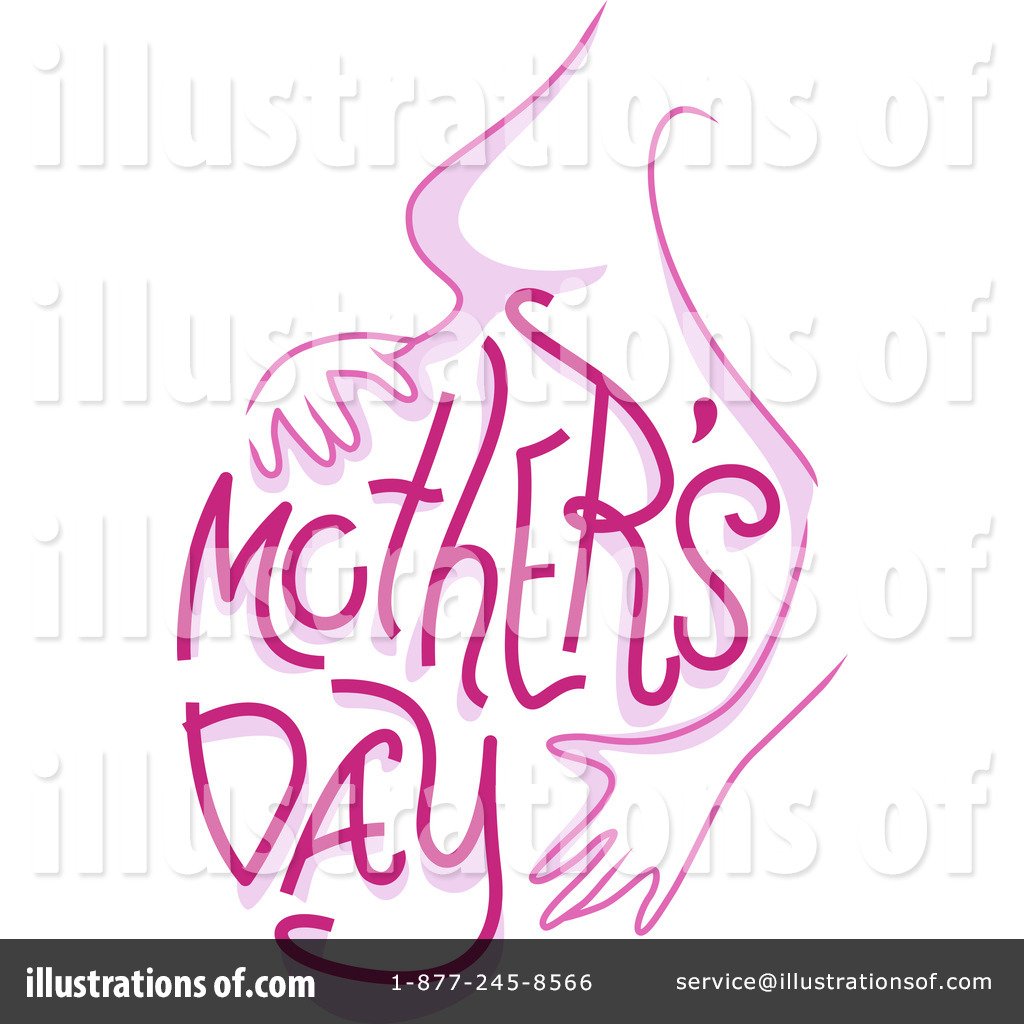 mothers day clipart 1101852 illustration by bnp design studio