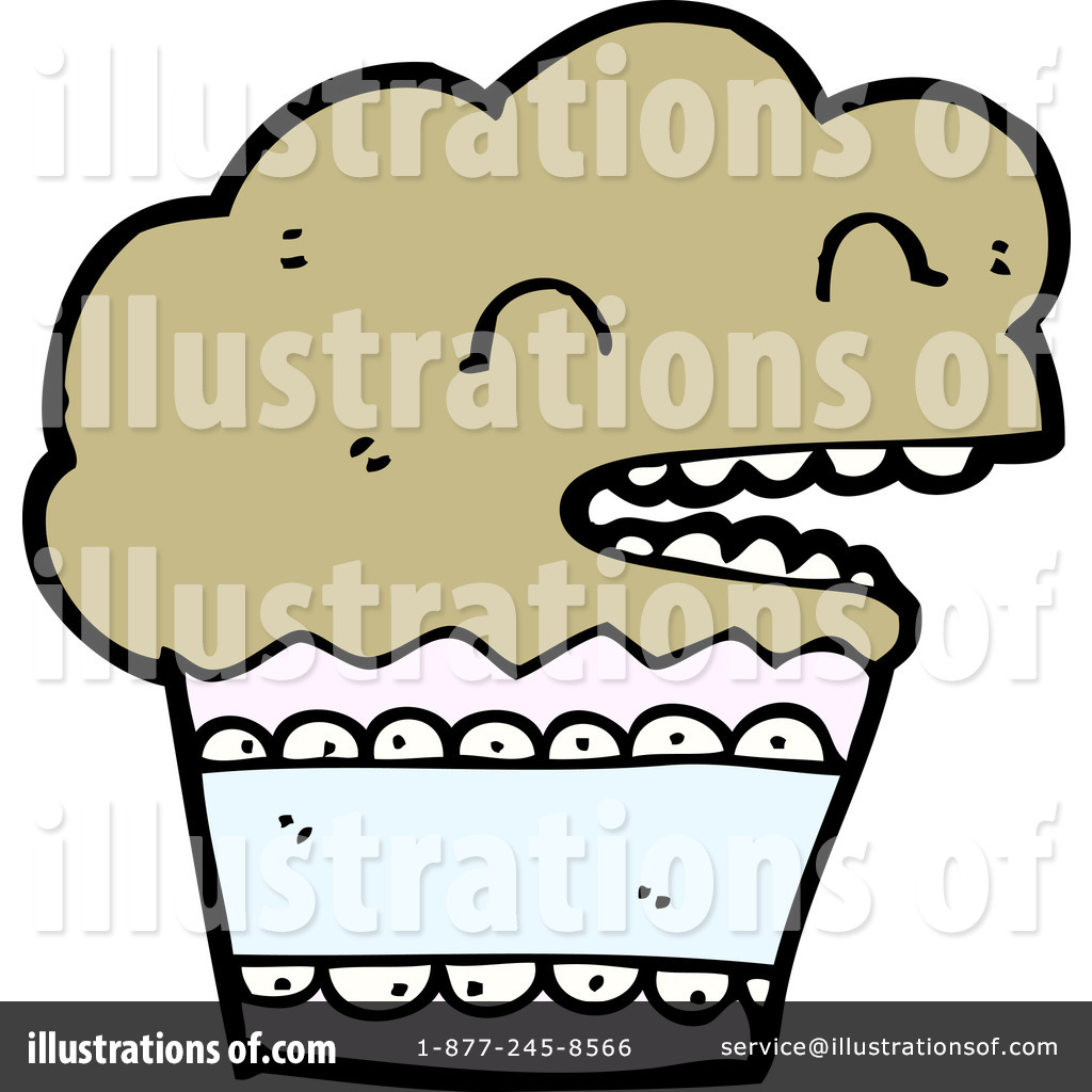 Muffin Clipart #1144810 - Illustration by lineartestpilot
