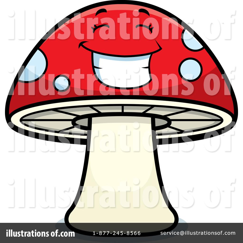 Mushroom Clipart #214921 - Illustration by Cory Thoman