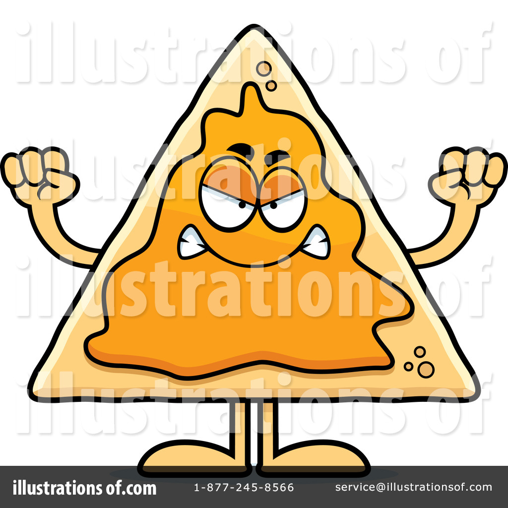 nacho clipart 1164916 illustration by cory thoman rh illustrationsof com nachos clipart black and white nacho clipart free
