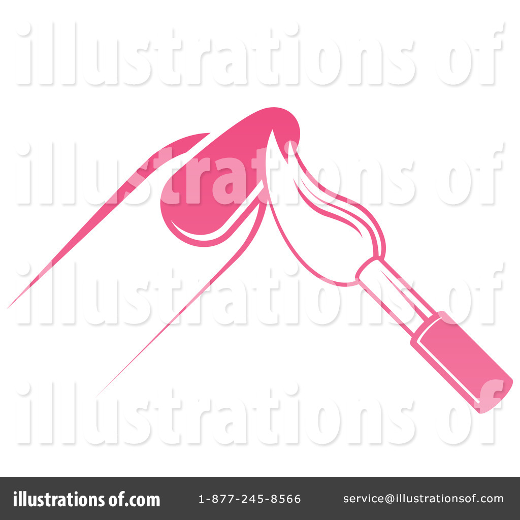 Nail Polish Clipart #1333592 - Illustration by AtStockIllustration