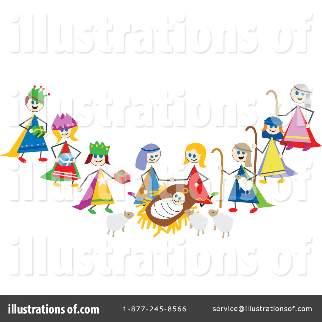 Nativity Clipart #99872 - Illustration by Prawny