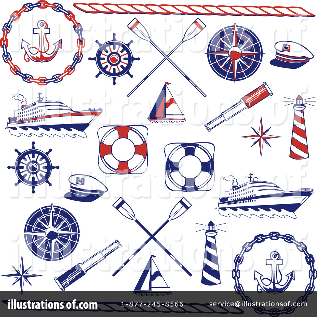 nautical clipart 72042 illustration by inkgraphics rh illustrationsof com free nautical clipart free nautical christmas clipart