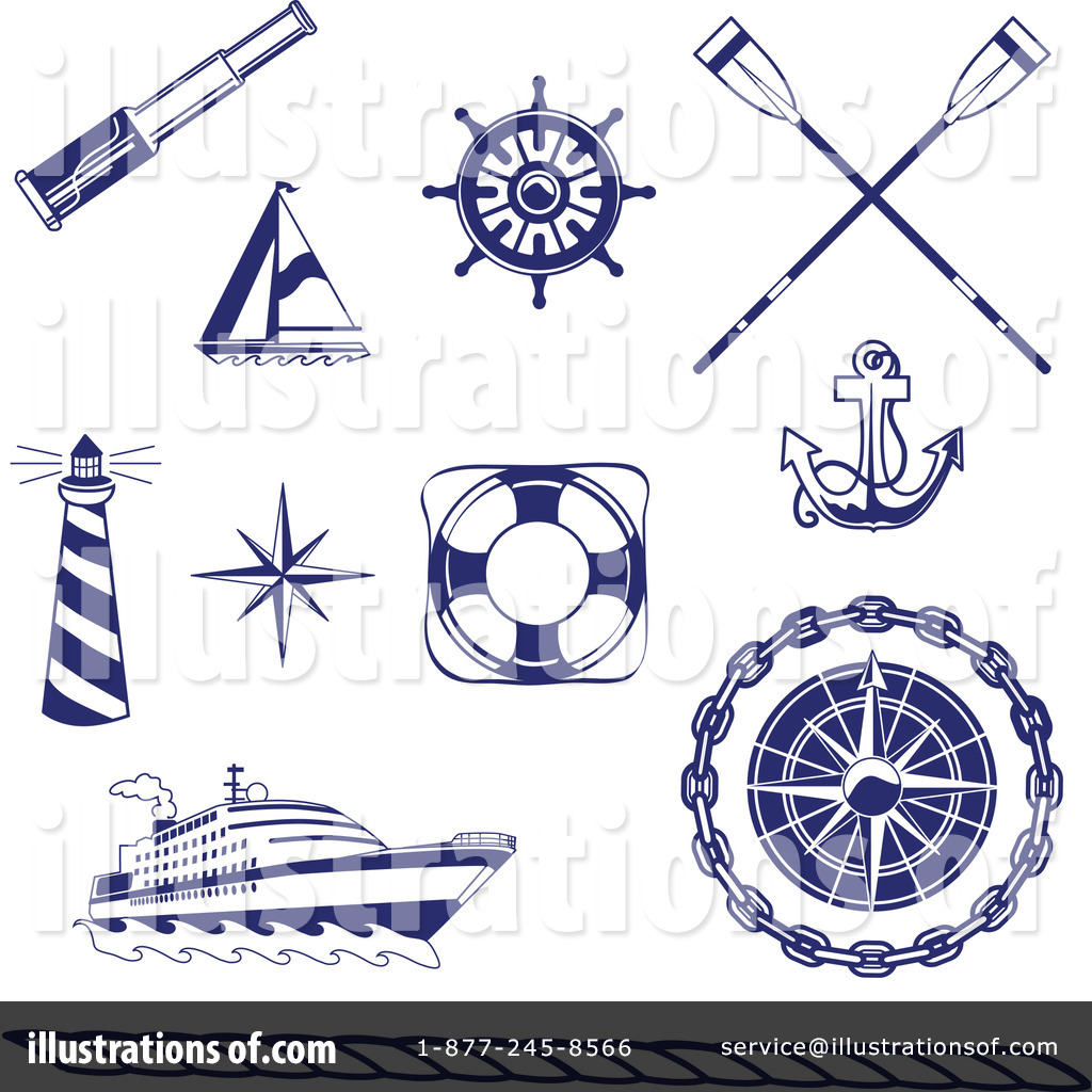 nautical clipart 72079 illustration by inkgraphics rh illustrationsof com free nautical christmas clipart free clipart nautical flags