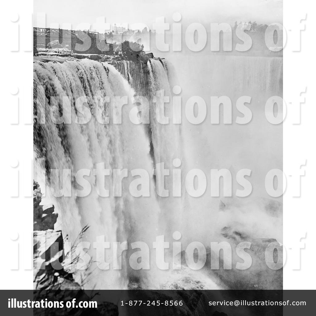 Niagara Falls Clipart #1083745 - Illustration by JVPD