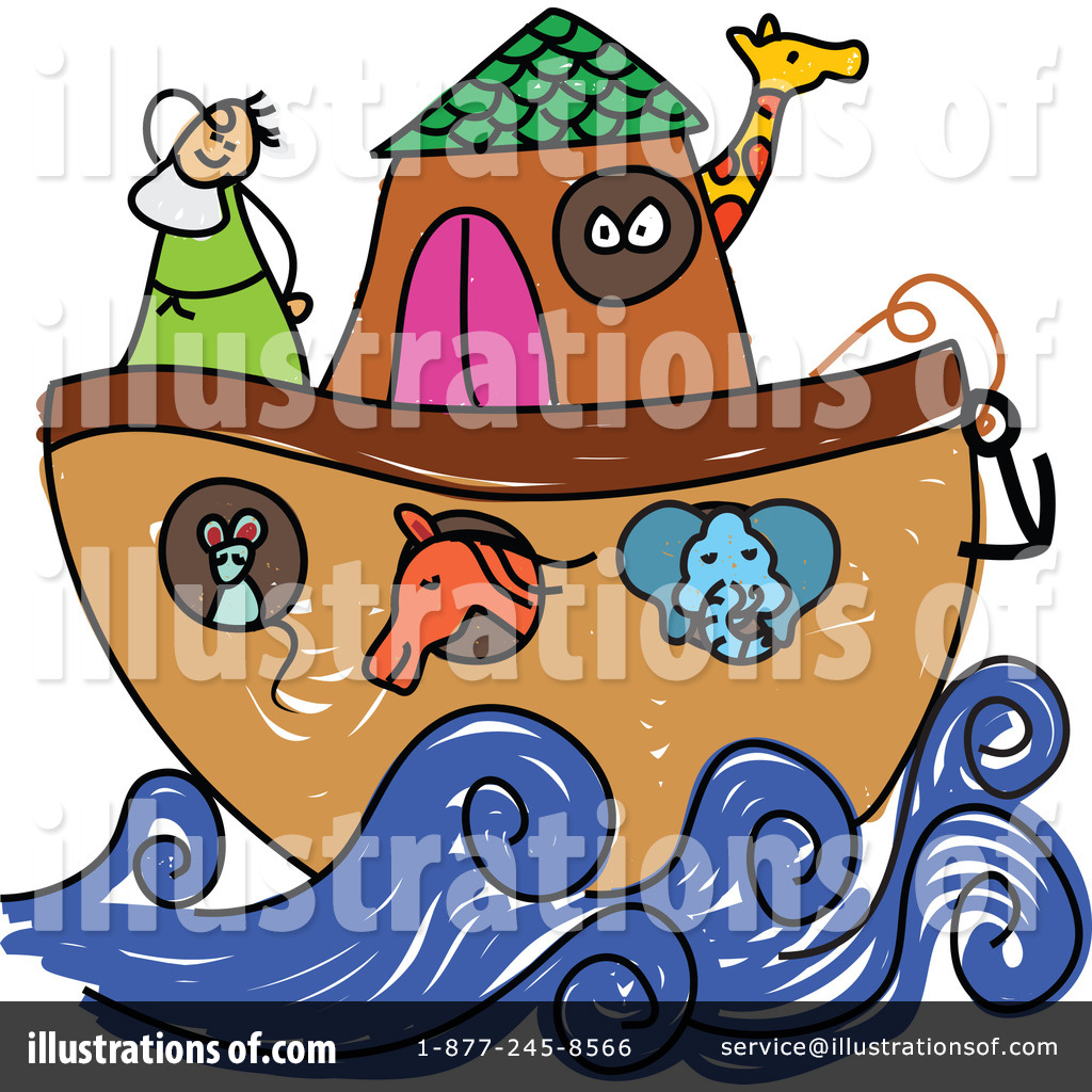 Noahs Ark Clipart #1111141 - Illustration by Prawny Vintage
