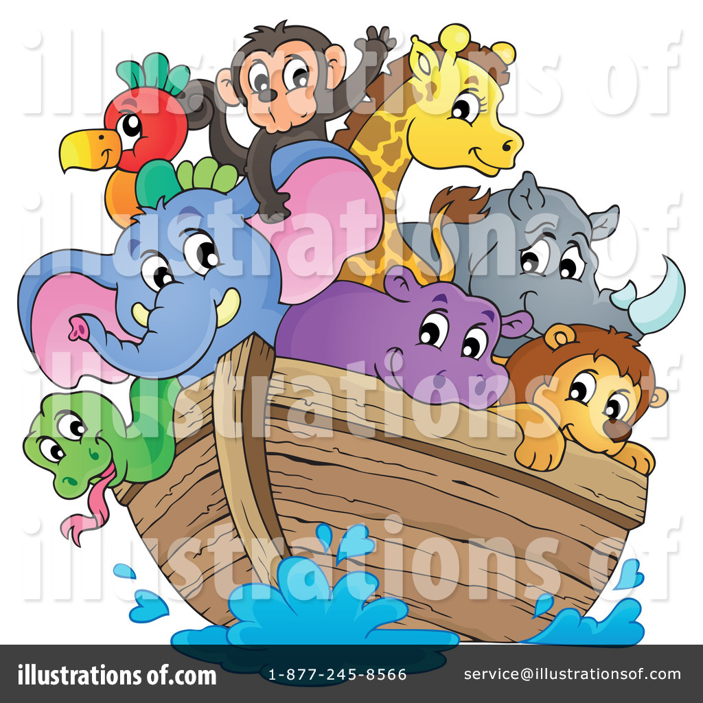 Noahs Ark Clipart #1244606 - Illustration by visekart