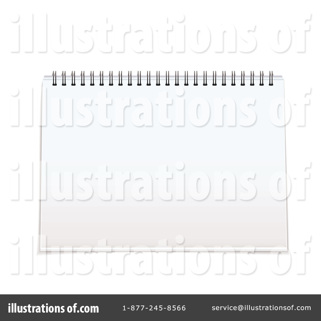 Notepad Clipart #1106270 - Illustration by michaeltravers