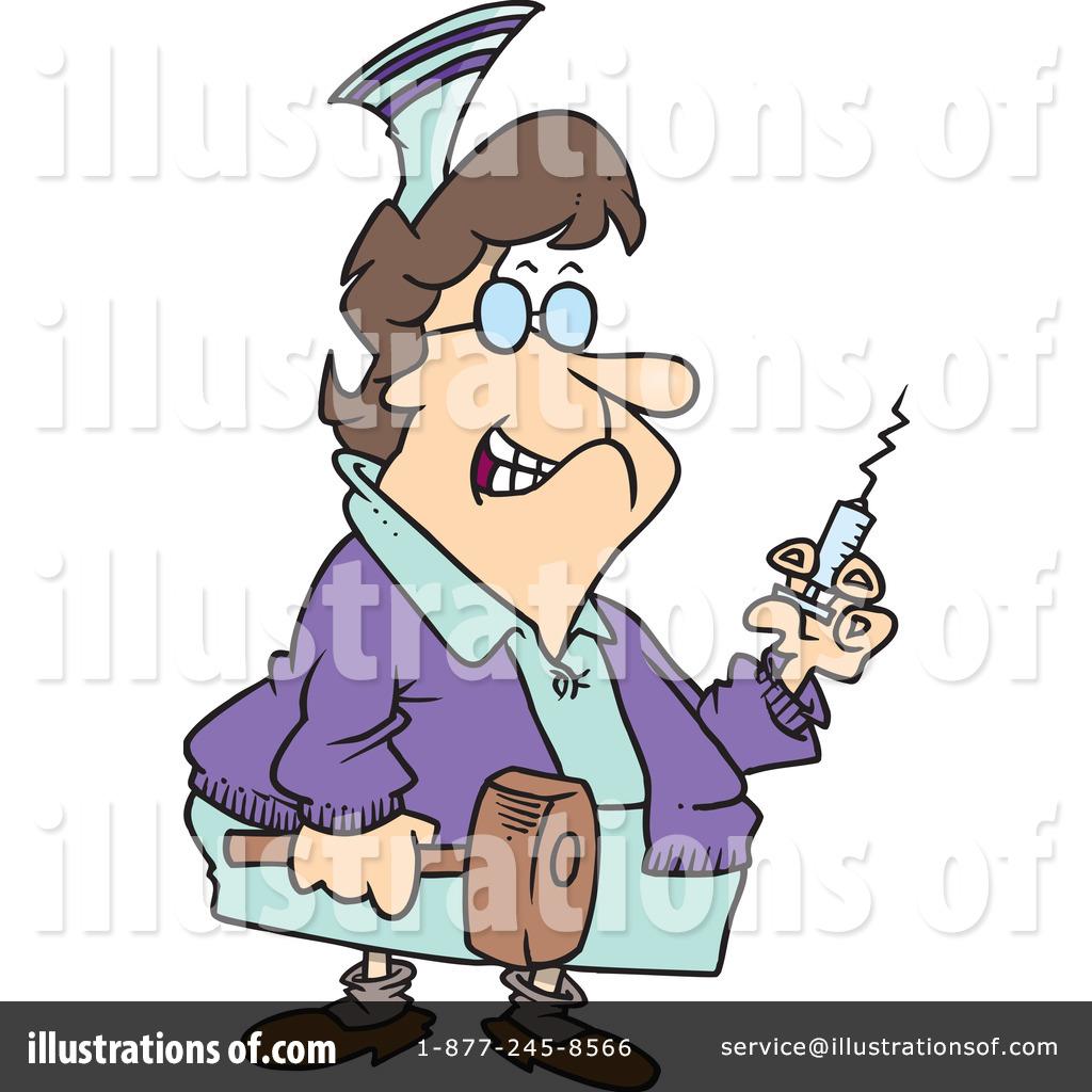 Nurse Clipart #440145 - Illustration by Ron Leishman