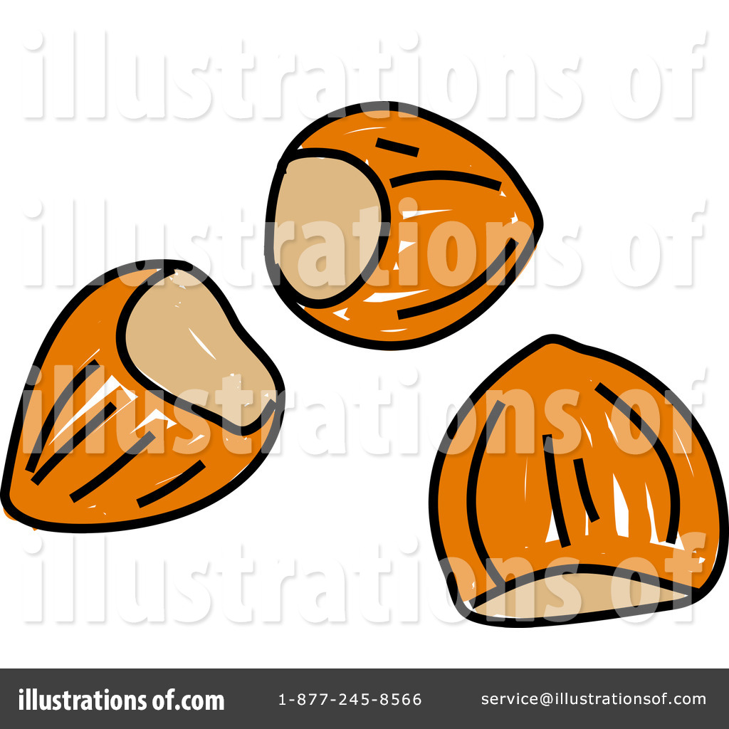 nuts clipart 66121 illustration by prawny rh illustrationsof com tree nut clip art buckeye nut clip art