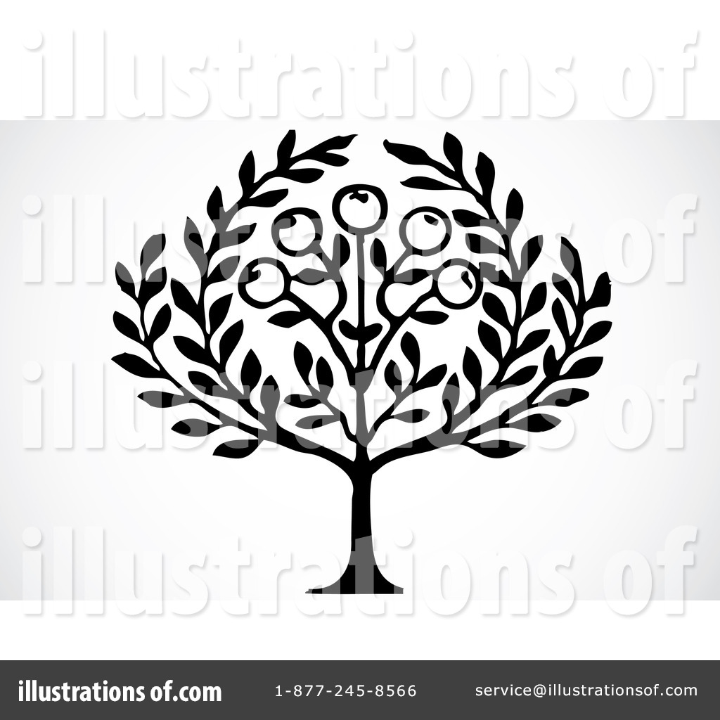 Olive Tree Clipart 72649 Illustration By Bestvector