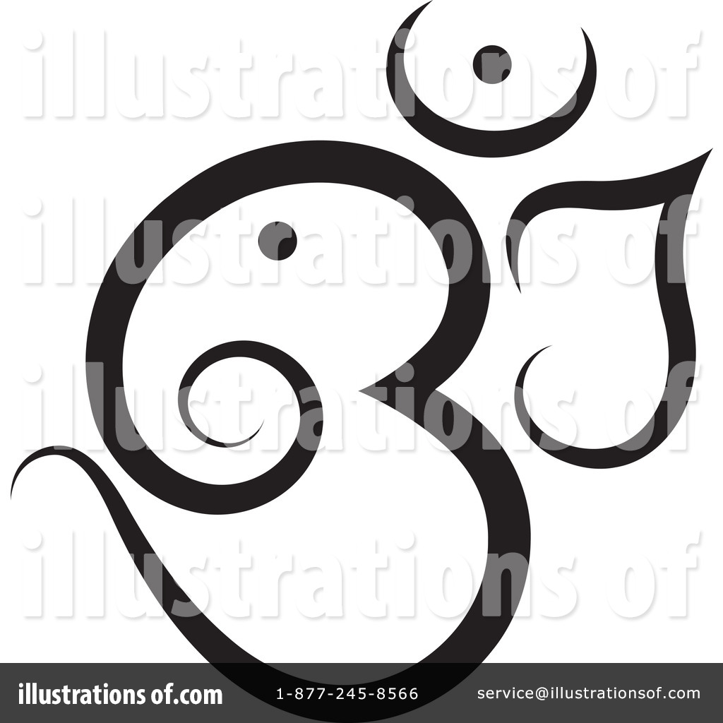 Om Symbol Clipart 1179740 Illustration By Lal Perera
