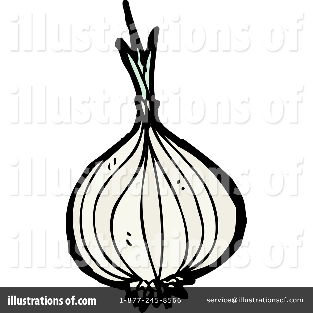 Onion Clipart #1216332 - Illustration by lineartestpilot