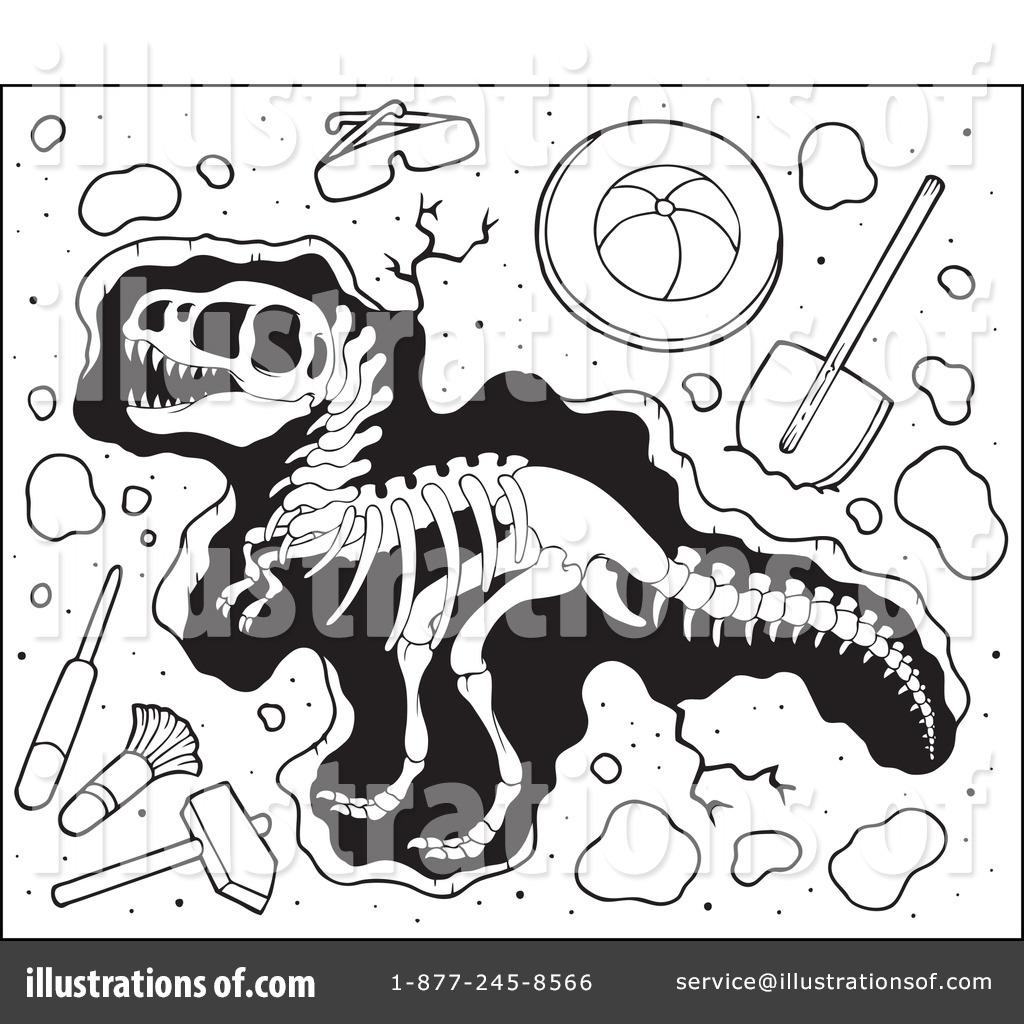 paleontology clipart 1098029 illustration by visekart