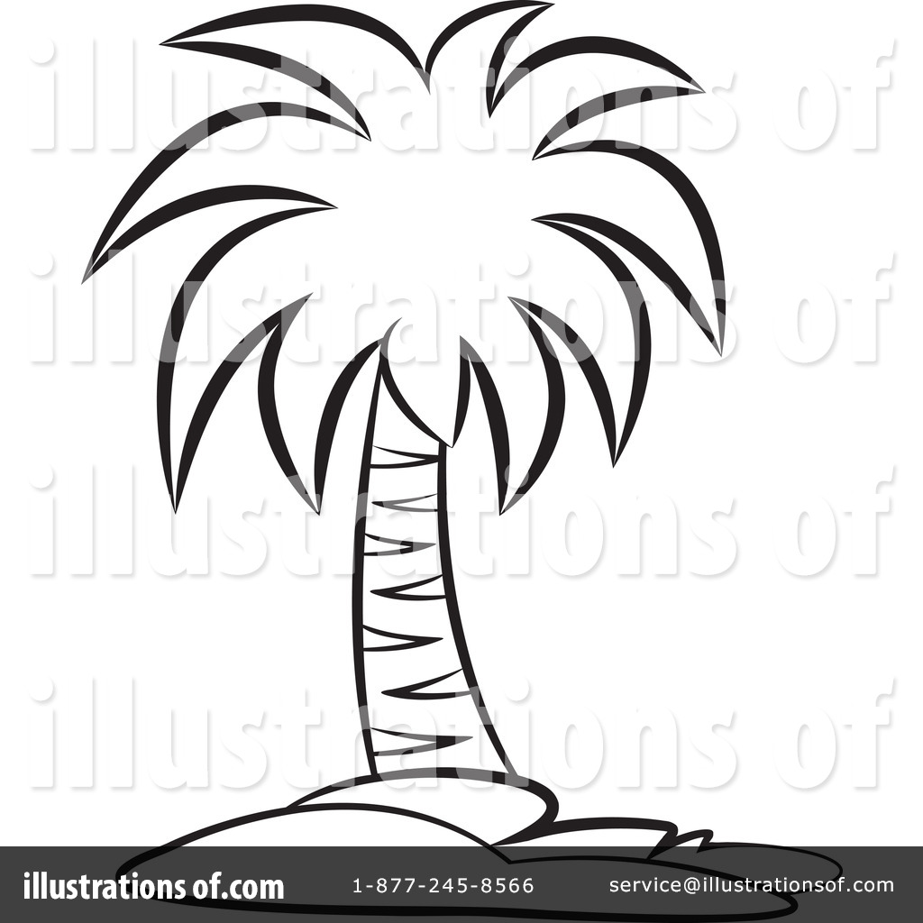palm tree clipart 1169790 illustration by lal perera rh illustrationsof com Flip Flop Palm Tree Clip Art Black and White free clipart palm tree black and white