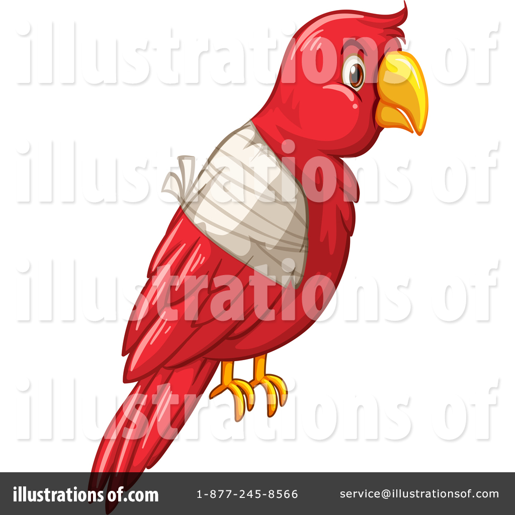Parrot Clipart 1445856 Illustration By Graphics Rf