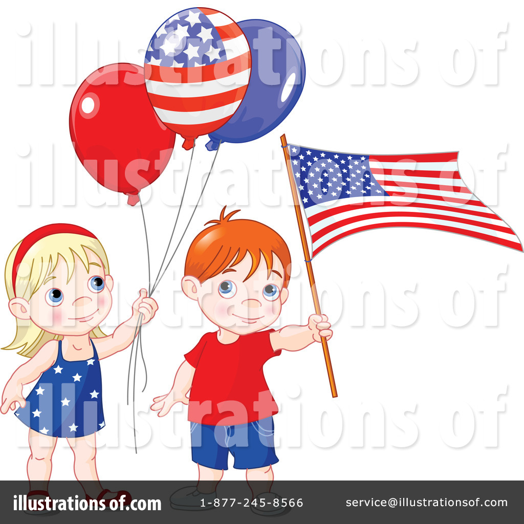 Patriotic Clipart #97975 - Illustration by Pushkin