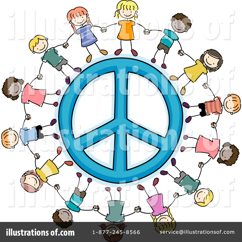 Peace clipart 1052232 illustration by bnp design studio royalty free rf peace clipart illustration by bnp design studio stock sample voltagebd Choice Image