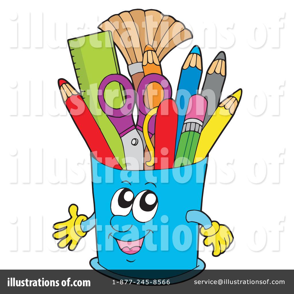 Pencils Clipart 231355 Illustration By Visekart