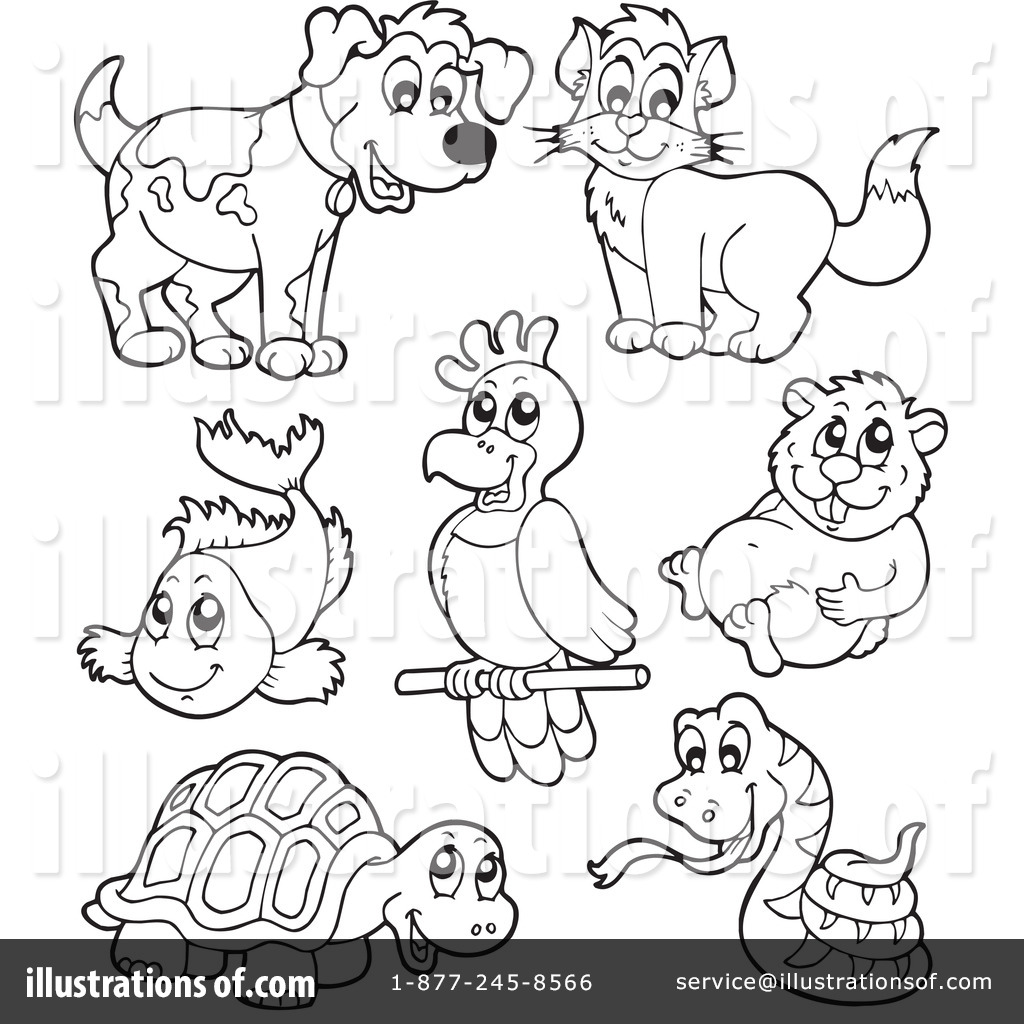Pets Clipart #231691 - Illustration by visekart