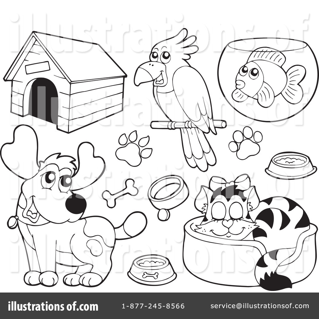 Pets Clipart #231699 - Illustration by visekart