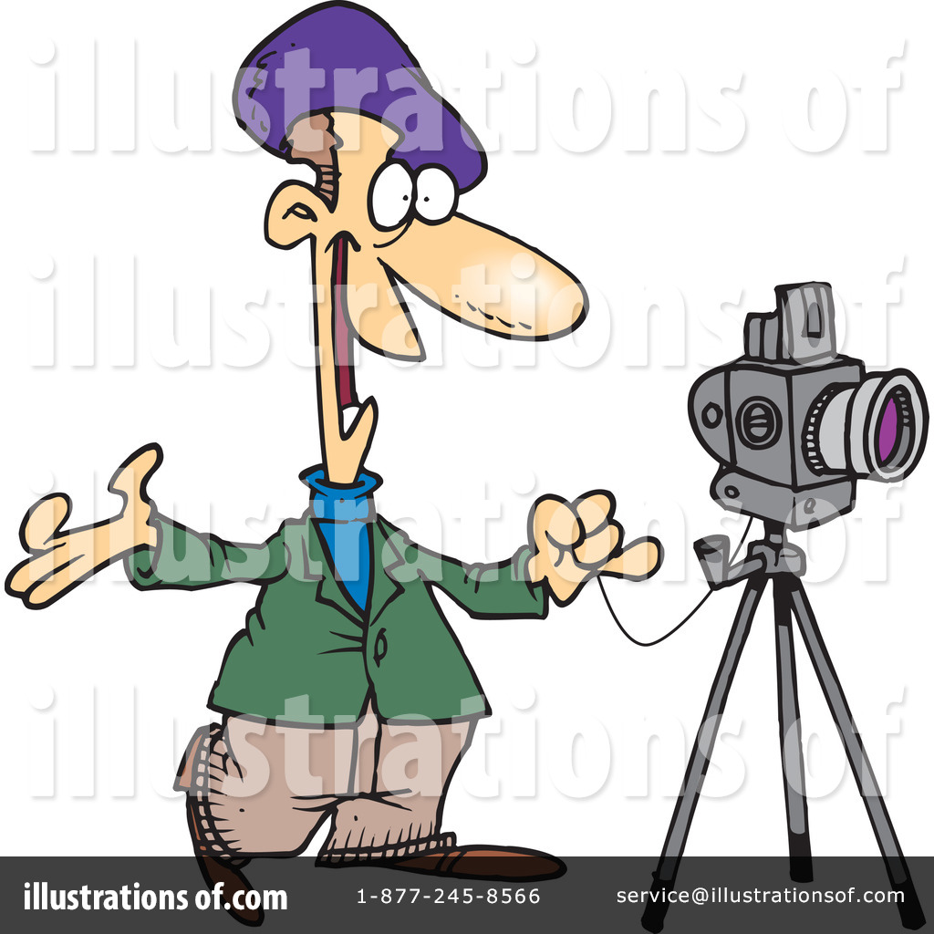 photographer clipart 1047363 illustration by toonaday rh illustrationsof com free photography clip art downloads free photograph clip art