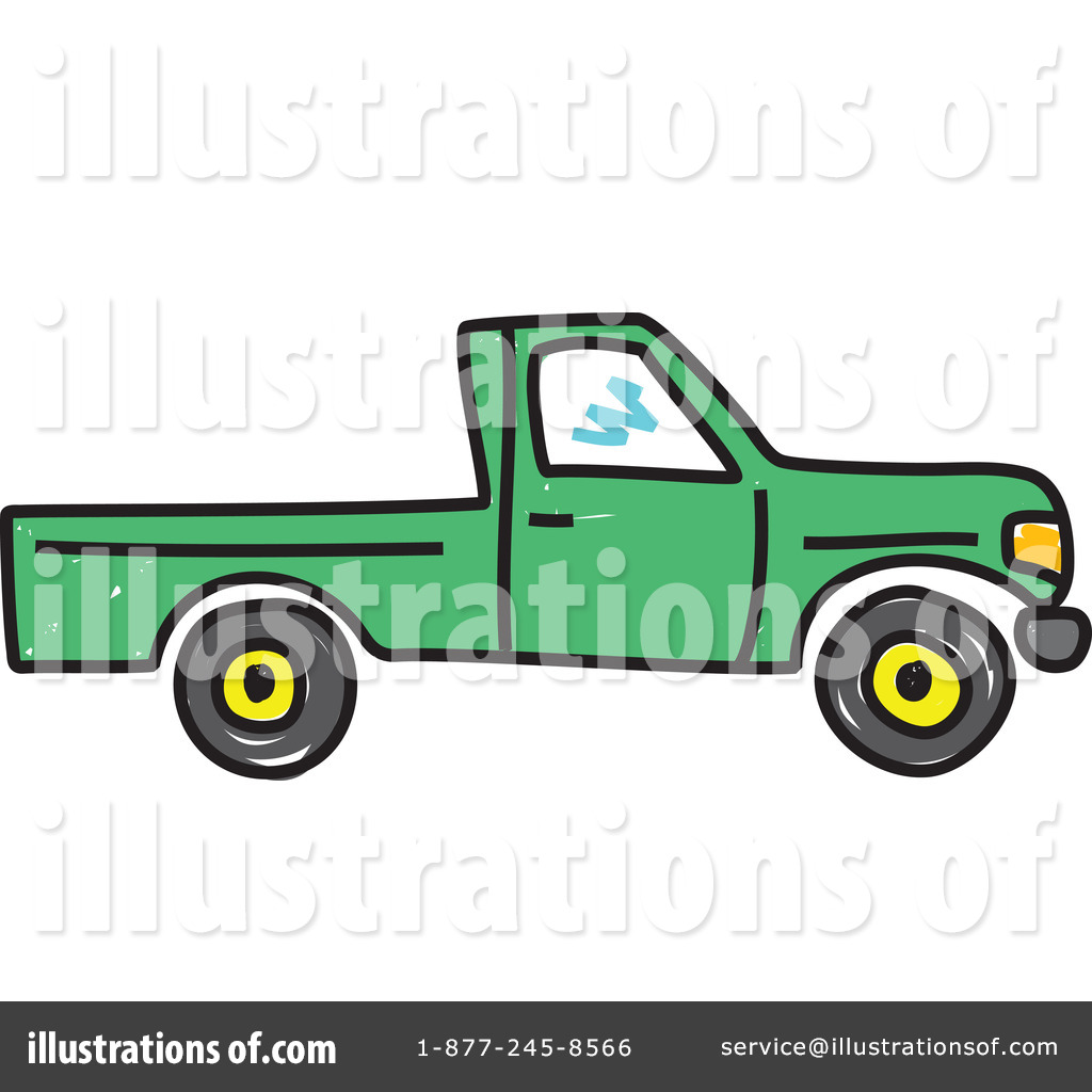 Pick Up Truck Clipart 225282 Illustration By Prawny