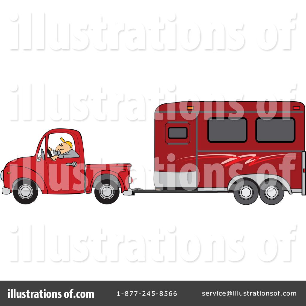 Green truck clipart royalty free rf pickup truck clipart - Royalty Free Rf Pickup Truck Clipart Illustration 1462727 By Djart