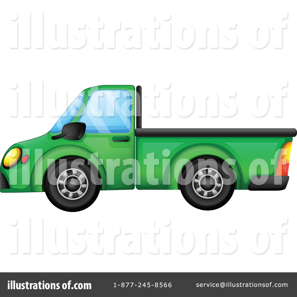 Pickup Truck Clipart 1167195 Illustration By Graphics Rf