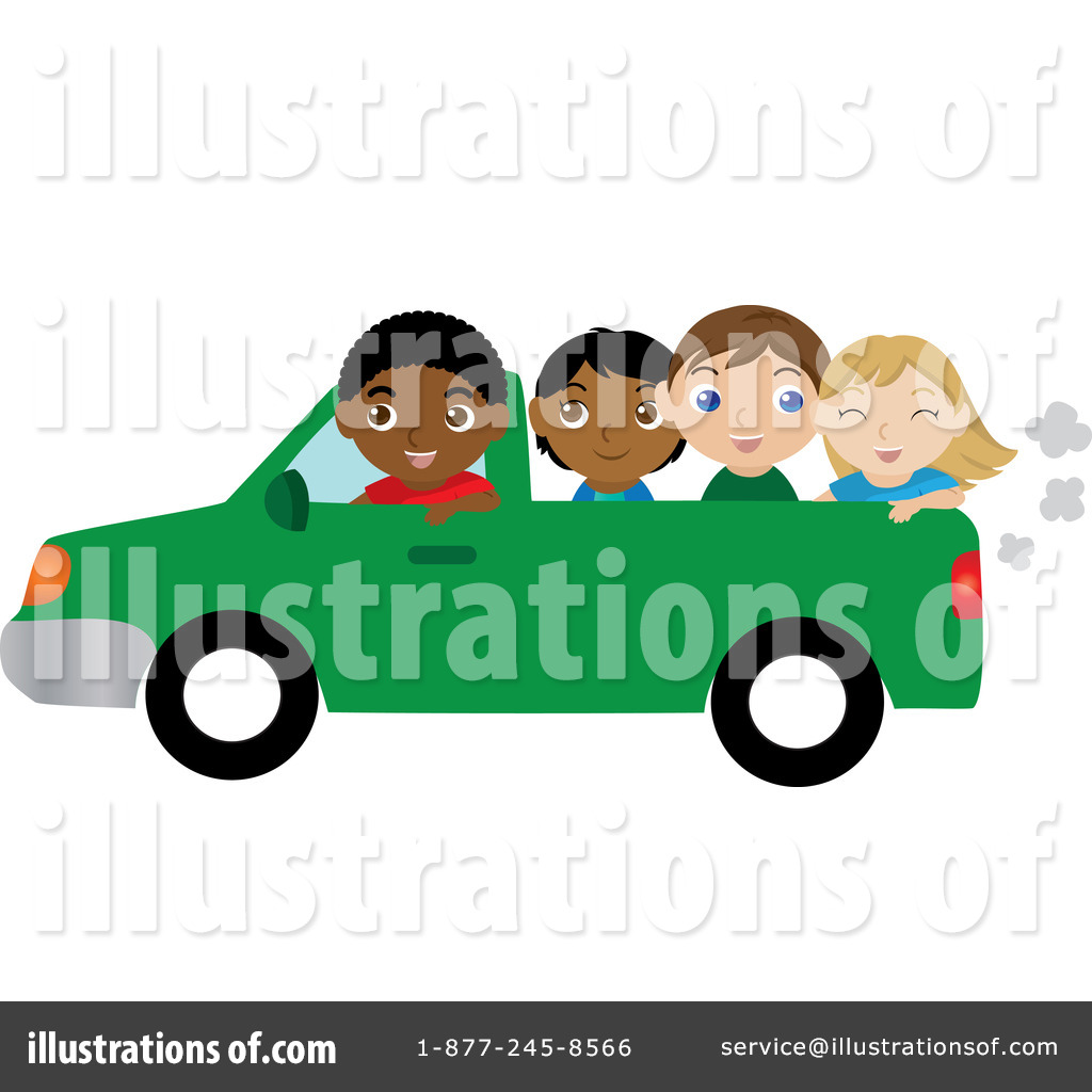 Green truck clipart royalty free rf pickup truck clipart - Royalty Free Rf Pickup Truck Clipart Illustration By Rosie Piter Stock Sample