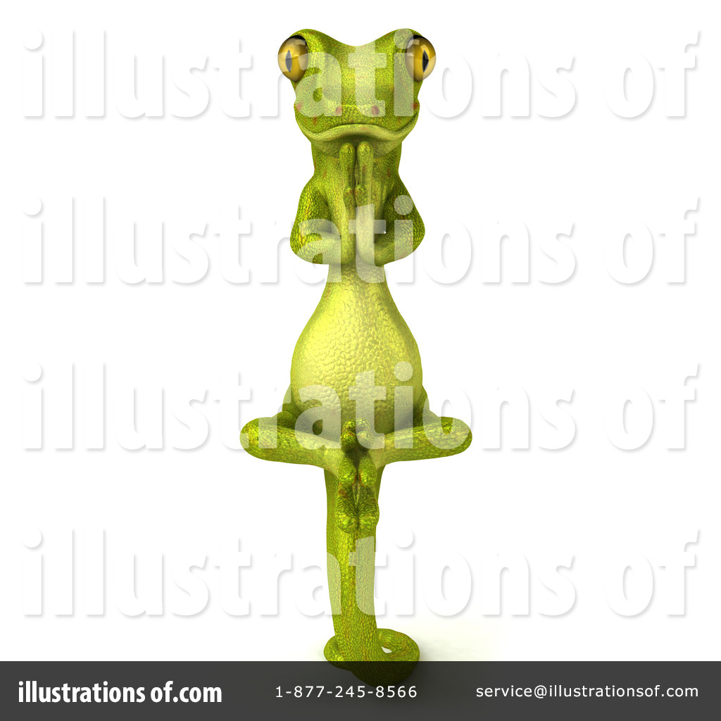 Pico Gecko Character Clipart #79460 - Illustration by Julos