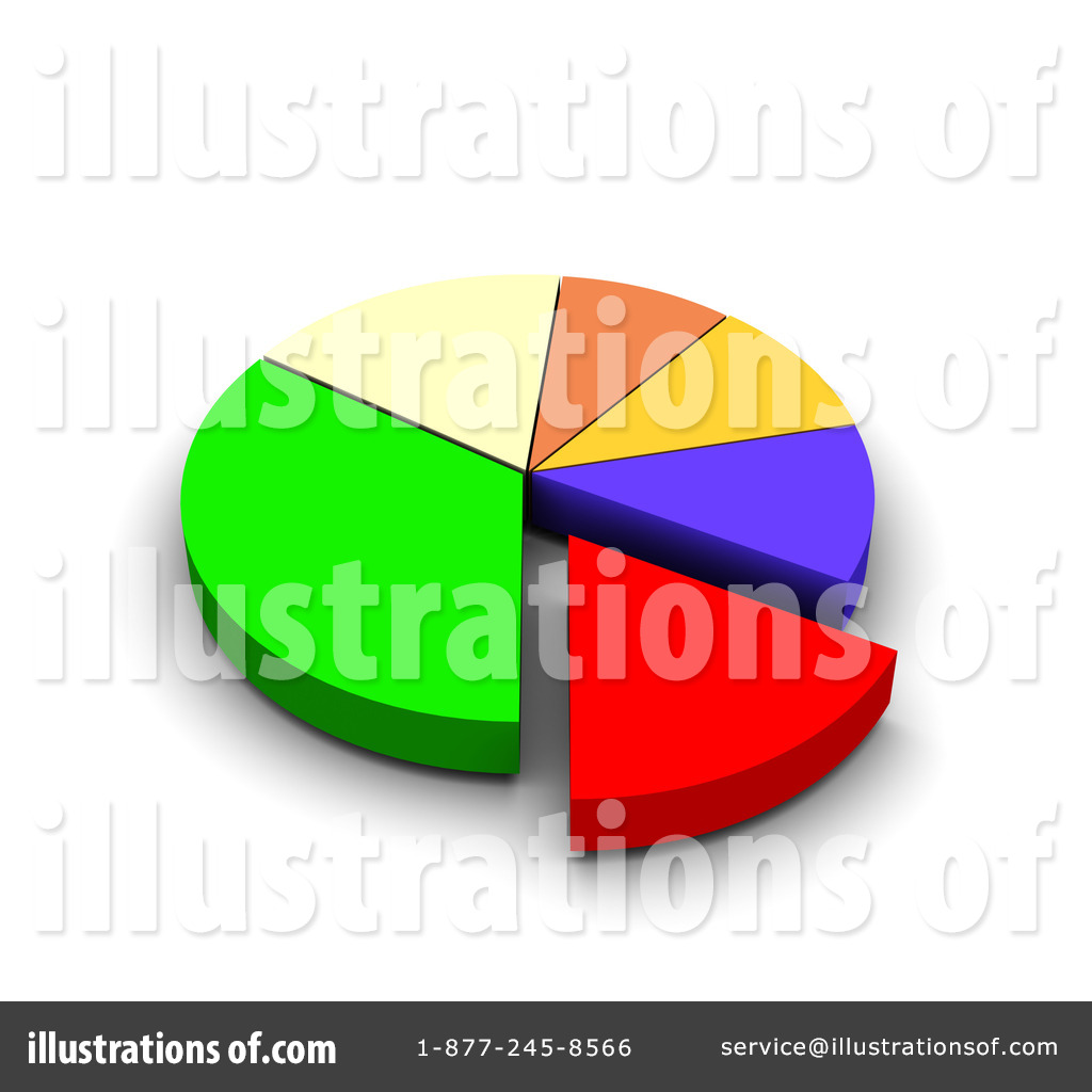 Pie Chart Clipart 91275 Illustration By Jiri Moucka