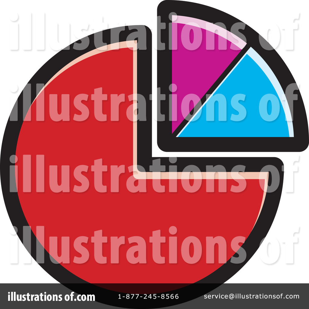 Pie Chart Clipart 1229931 Illustration By Lal Perera