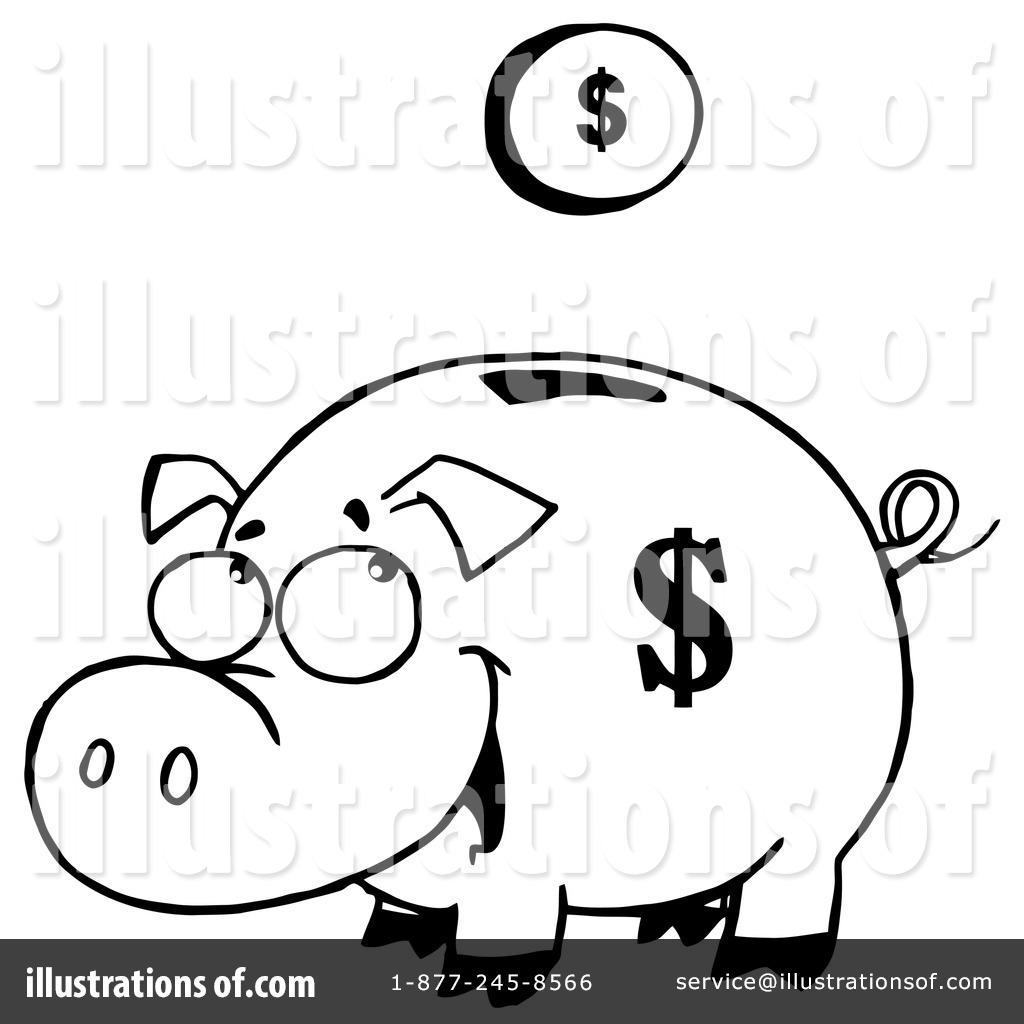 piggy bank clipart  83205