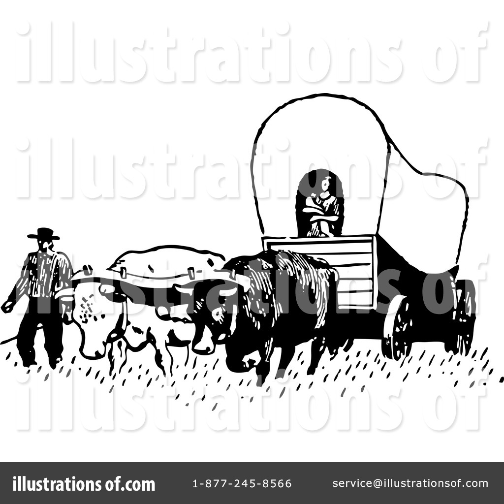 Pioneer Clipart #1046691 - Illustration by toonaday