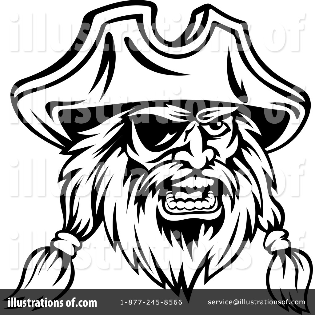 pirate clipart 1129608 illustration by vector tradition sm
