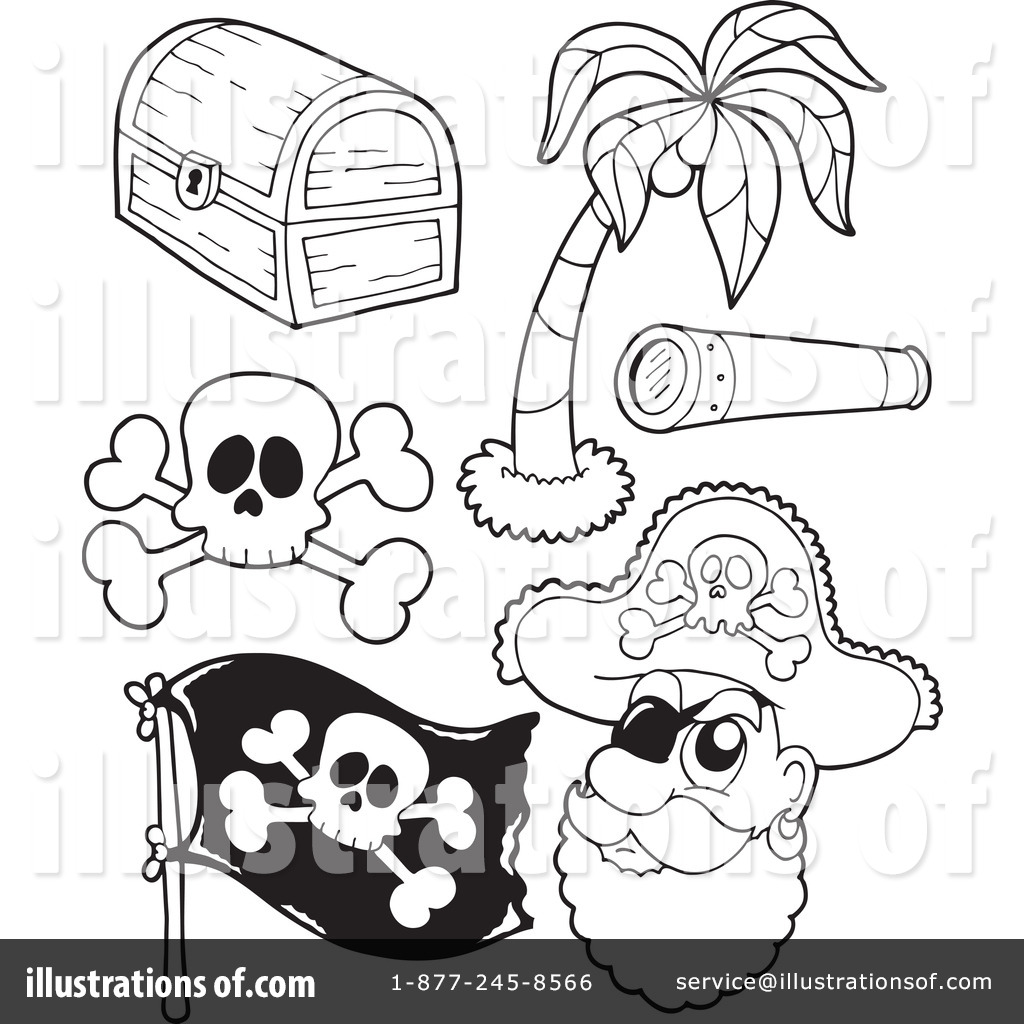Pirate Clipart #1104908 - Illustration by visekart