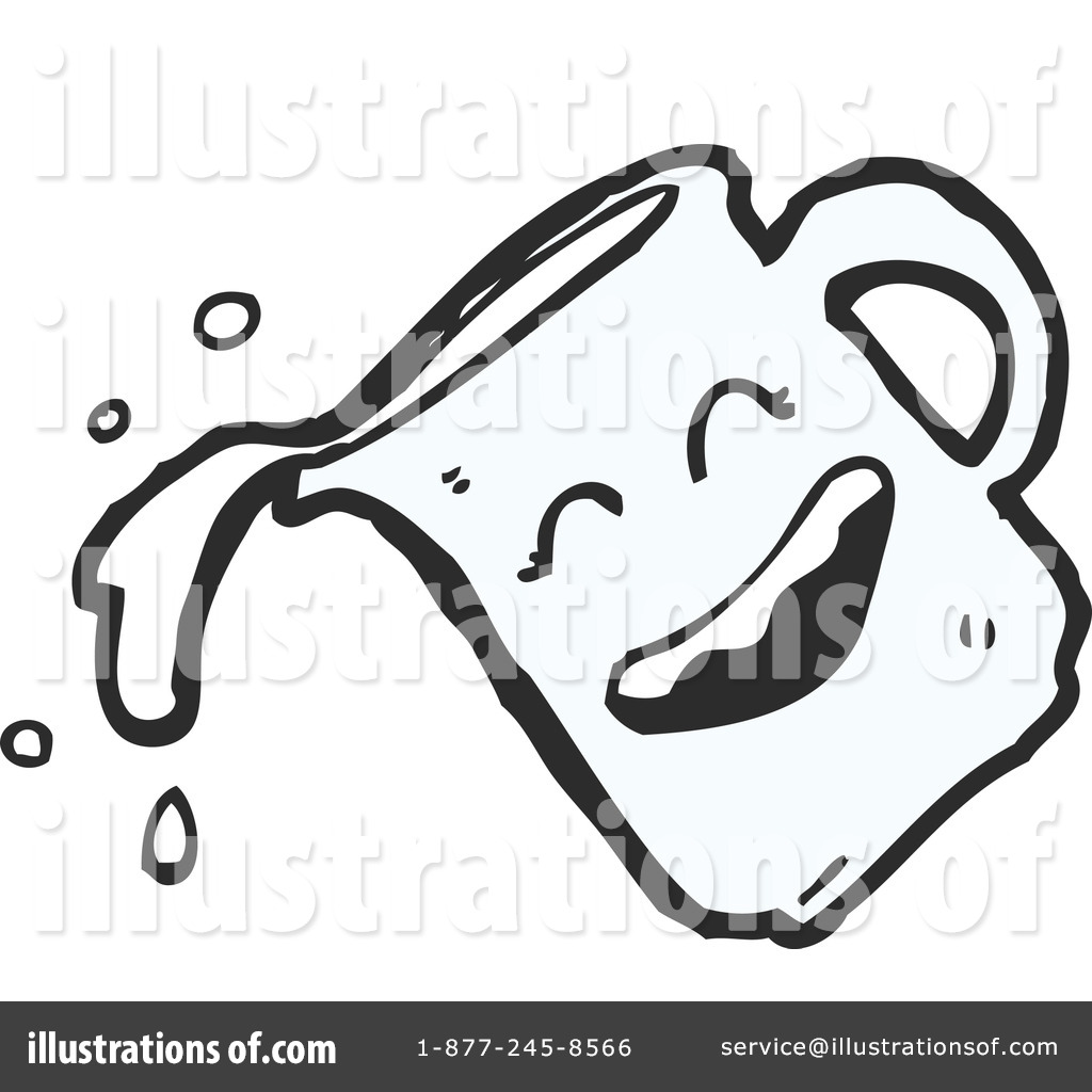Pitcher Clipart #1191057 - Illustration by lineartestpilot