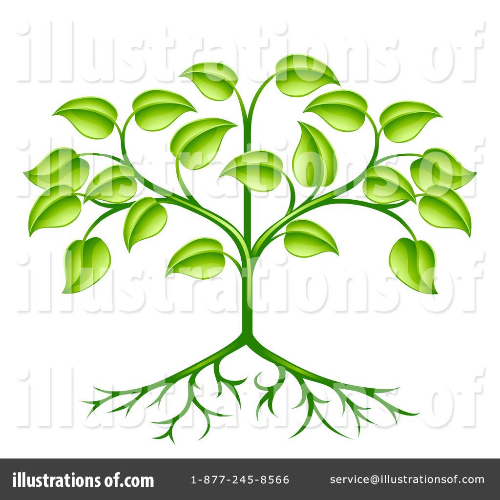 Plant Clipart #1100043 - Illustration by AtStockIllustration