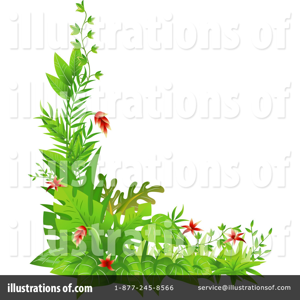 Plants Clipart #1260118 - Illustration by BNP Design Studio
