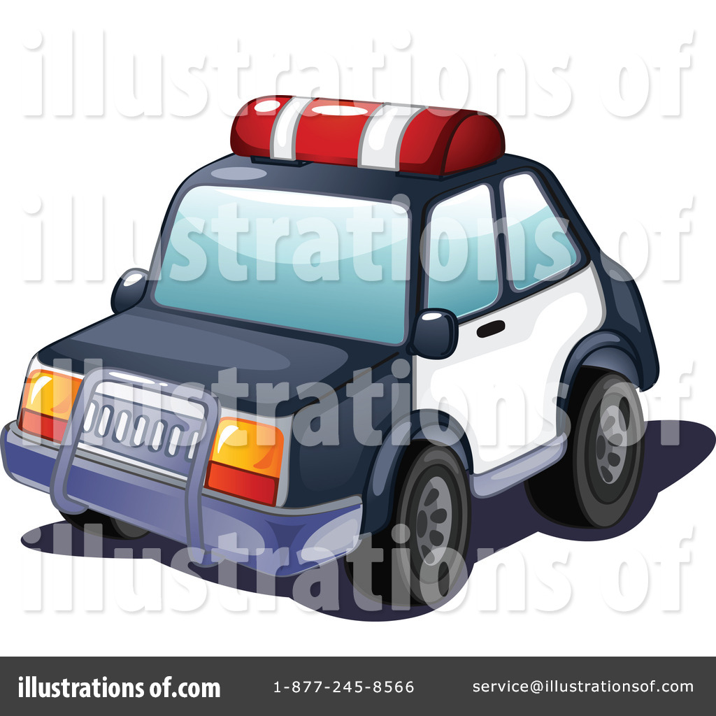 Police Car Clipart 1120442 Illustration By Graphics Rf