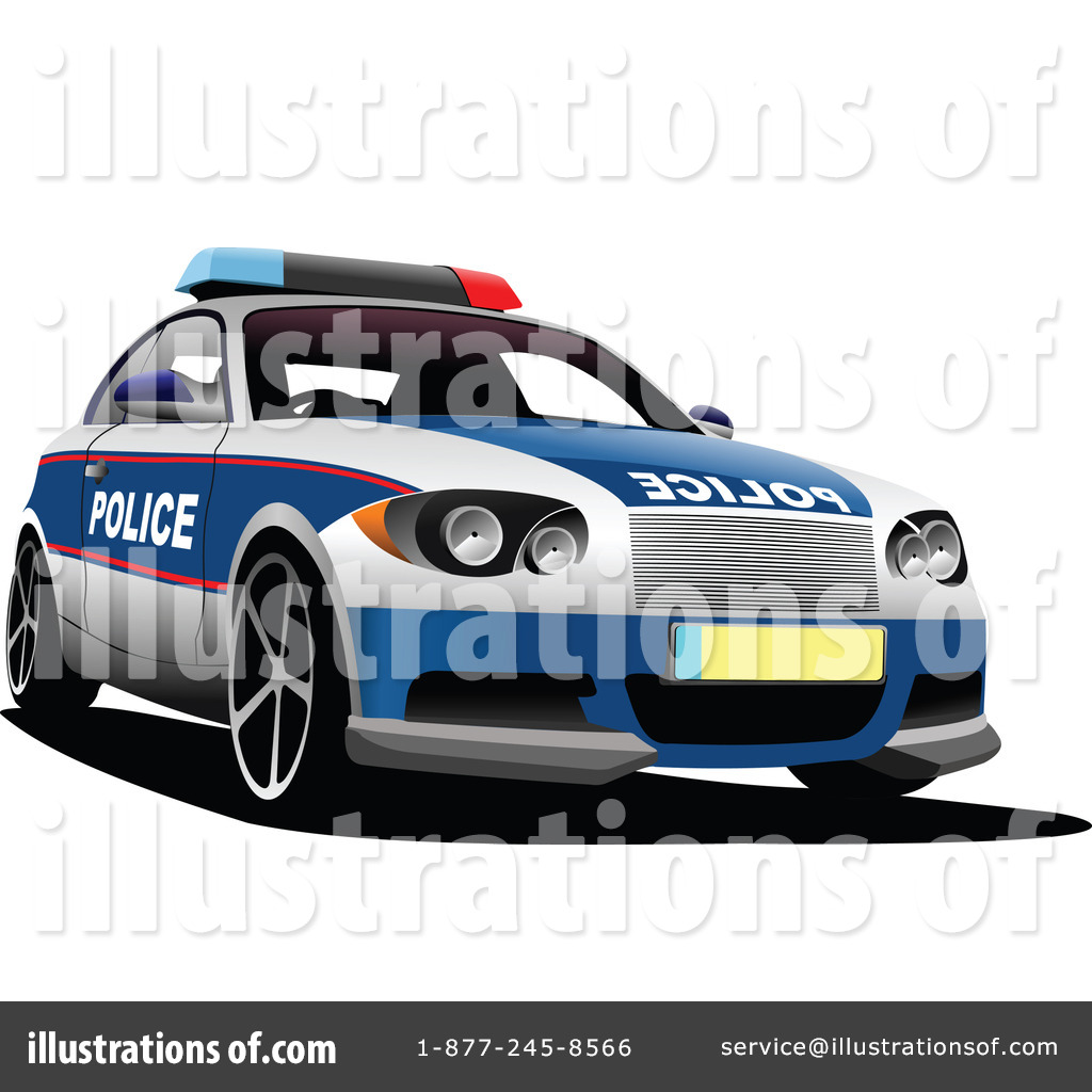 Police Car Clipart 1114085 Illustration By Leonid