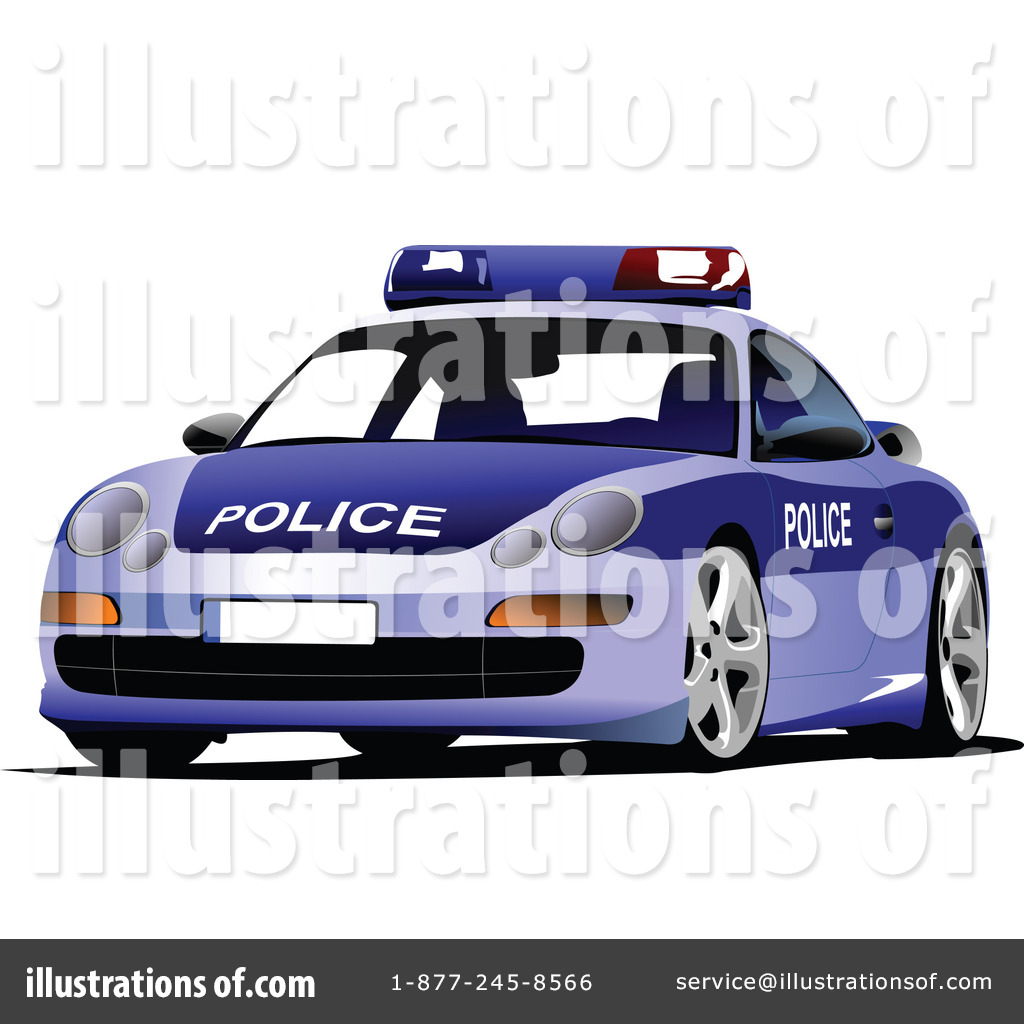 Police Car Clipart #436715 - Illustration by leonid