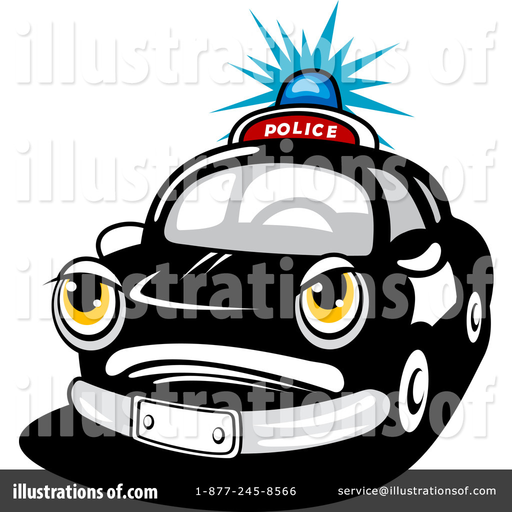 Police Car Clipart 1120130 Illustration By Vector Tradition Sm